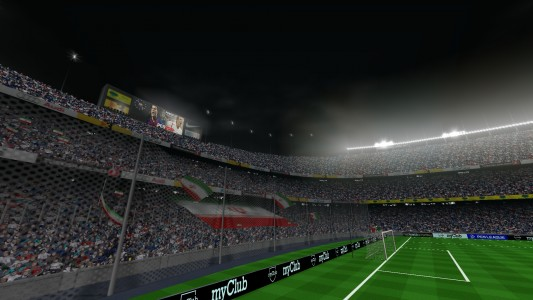 اسکرین شات بازی فوتبال PES 2019 زاویه PS4 1