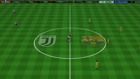 اسکرین شات بازی فوتبال PES 2019 زاویه PS4 3