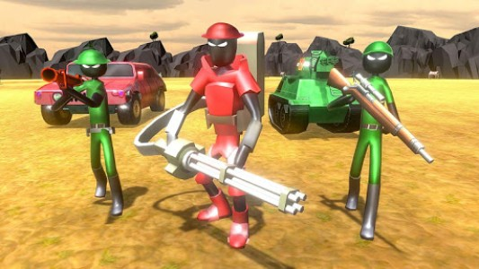اسکرین شات بازی Battle Simulator World War 2 - Stickman Warriors 6