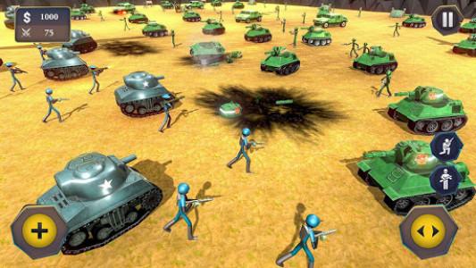 اسکرین شات بازی Battle Simulator World War 2 - Stickman Warriors 8