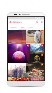 اسکرین شات برنامه GO Launcher S – 3D Theme, Wallpaper & Sticker 7