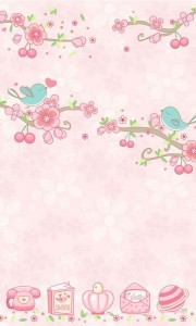 اسکرین شات برنامه Love Petal GO Launcher Theme 3