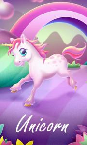 اسکرین شات برنامه Unicorn GO Launcher Theme 1