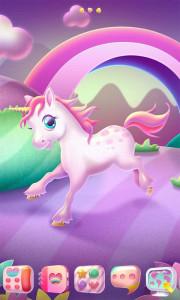 اسکرین شات برنامه Unicorn GO Launcher Theme 2