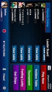 اسکرین شات بازی Texas Holdem Poker Pro 3