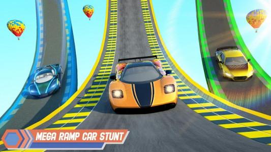 اسکرین شات برنامه Superhero Car Stunt: Car Games 2