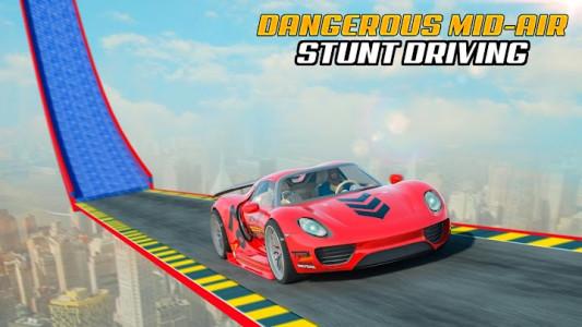 اسکرین شات برنامه Superhero Car Stunt: Car Games 7