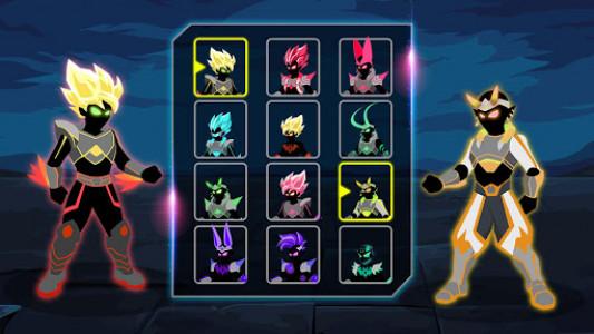 اسکرین شات بازی Stickman Shadow: Dragon War Fighting Game 4