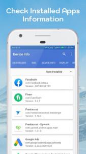 اسکرین شات برنامه Find Device Info IMEI number - IMEI check info sy 4