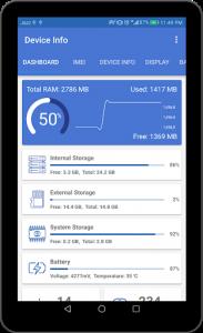 اسکرین شات برنامه Find Device Info IMEI number - IMEI check info sy 8