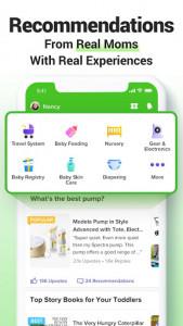اسکرین شات برنامه GLOW. Pregnancy & Baby Tracker 4