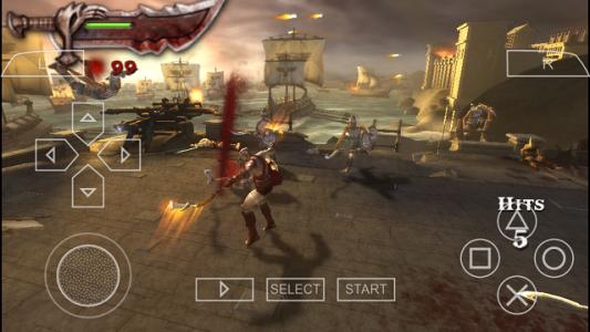 اسکرین شات بازی بازی خدای جنگ Olympus 1