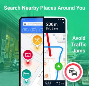 اسکرین شات برنامه GPS Route Planner 7