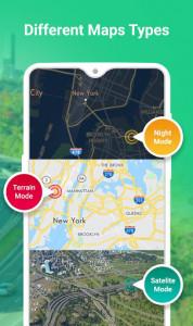 اسکرین شات برنامه GPS Route Planner 4