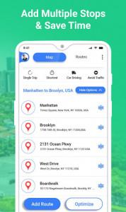 اسکرین شات برنامه GPS Route Planner 2