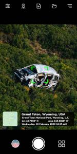 اسکرین شات برنامه GPS Map Camera: Geotag Photos & Add GPS Location 2