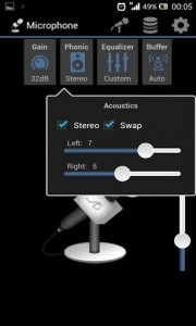 اسکرین شات برنامه Microphone 3
