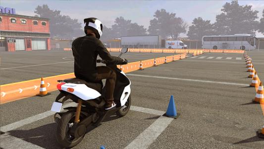 اسکرین شات بازی Real Bike 3D Parking Adventure: Bike Driving Games 1