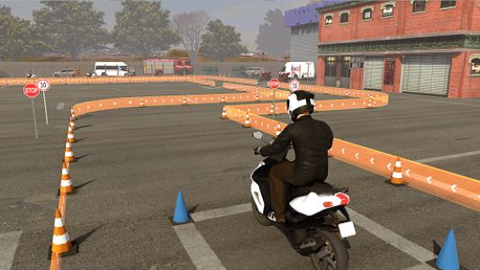 اسکرین شات بازی Real Bike 3D Parking Adventure: Bike Driving Games 6