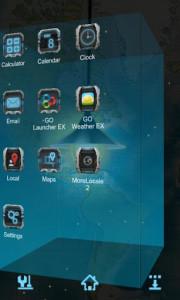 اسکرین شات برنامه Next magic light livewallpaper 7