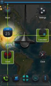 اسکرین شات برنامه Next magic light livewallpaper 3