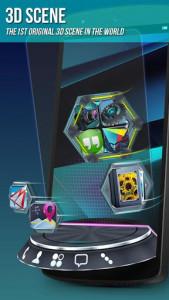 اسکرین شات برنامه Next Launcher 3D Shell Lite 2