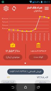 اسکرین شات برنامه همراه بانک سپه (همراه بانک انصار) 2