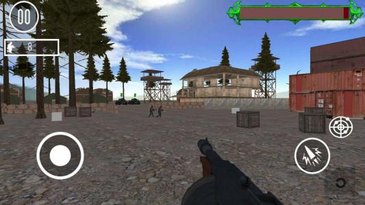 اسکرین شات بازی کماندو ویژه : حمله به اردوگاه 4