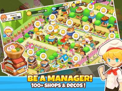 اسکرین شات بازی Restaurant Paradise: Sim Builder 1