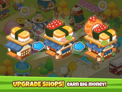اسکرین شات بازی Restaurant Paradise: Sim Builder 3
