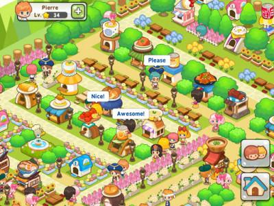 اسکرین شات بازی Restaurant Paradise: Sim Builder 5