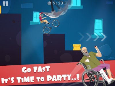 اسکرین شات بازی happy ride wheels game 3
