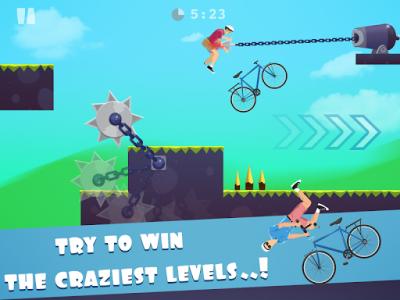 اسکرین شات بازی happy ride wheels game 1