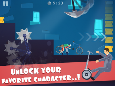 اسکرین شات بازی happy ride wheels game 2