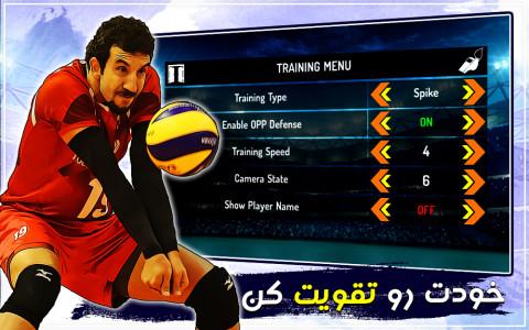 اسکرین شات بازی والیبال حرفه ای 12
