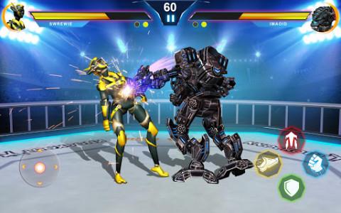 اسکرین شات بازی Steel Robot Ring Fighting – Robot Wrestling 2019 2