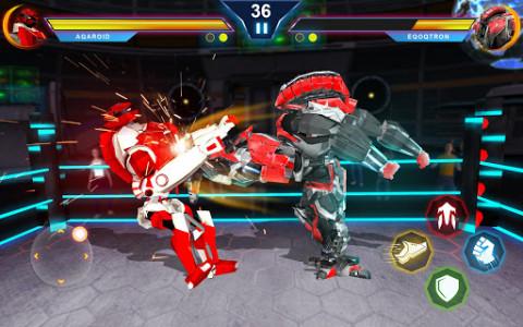 اسکرین شات بازی Steel Robot Ring Fighting – Robot Wrestling 2019 3