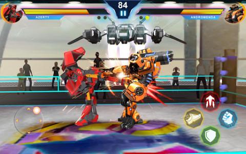 اسکرین شات بازی Steel Robot Ring Fighting – Robot Wrestling 2019 4