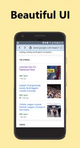 اسکرین شات برنامه Speed Browser Turbo 4.5G - Smart Search, Light & Fast 2
