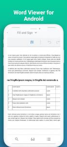 اسکرین شات برنامه Docx Reader 2021 - Word, Document, Office Reader 3