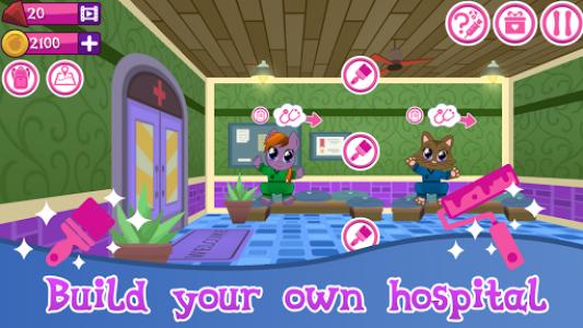 اسکرین شات بازی Cute Pet Hospital 2