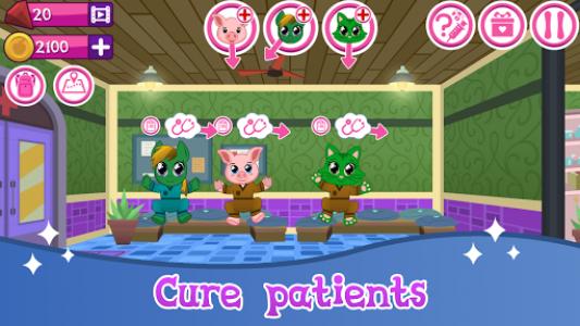 اسکرین شات بازی Cute Pet Hospital 1