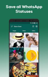 اسکرین شات برنامه Status Saver for WhatsApp 2