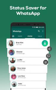اسکرین شات برنامه Status Saver for WhatsApp 1