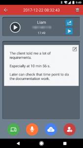 اسکرین شات برنامه Call Recorder 4