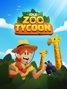 اسکرین شات بازی Idle Zoo Tycoon 3D - Animal Park Game 1