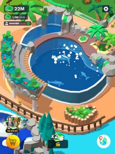 اسکرین شات بازی Idle Zoo Tycoon 3D - Animal Park Game 6