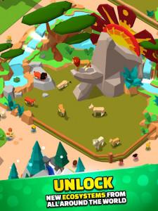 اسکرین شات بازی Idle Zoo Tycoon 3D - Animal Park Game 5