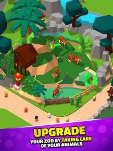 اسکرین شات بازی Idle Zoo Tycoon 3D - Animal Park Game 4