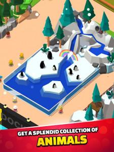 اسکرین شات بازی Idle Zoo Tycoon 3D - Animal Park Game 2